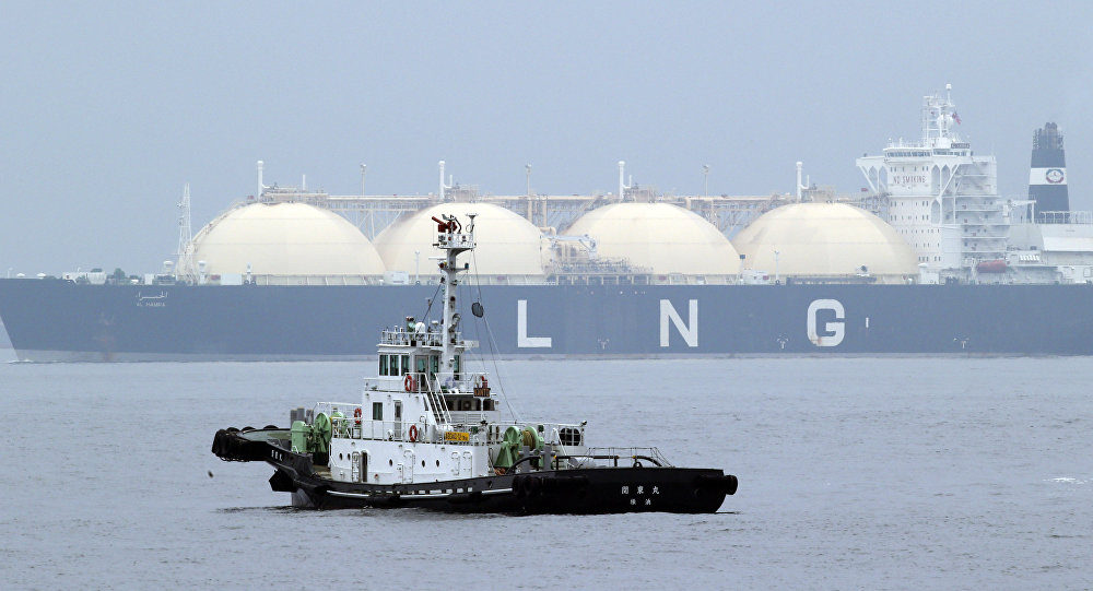 LNG tanker. File photo