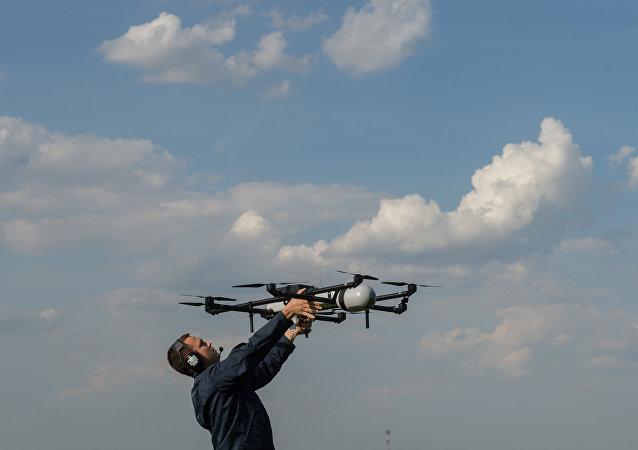 UAV demonstration flights in Moscow region