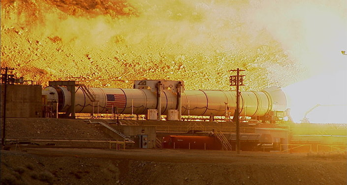 NASA's Space Launch System Booster Passes Major Ground Test