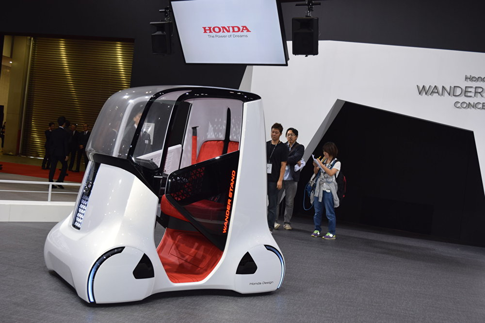 Technology and Fantasy: Futuristic Cars at the Tokyo Motor Show