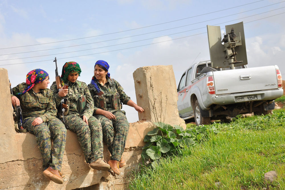 Amazons of the Middle East: Kurdish Women Fighting Against ISIL