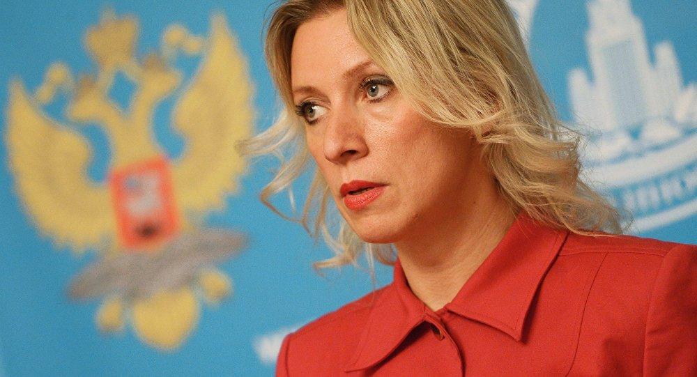 ロシア外務省のスポークスマンマリアZakharovaによってブリーフィング