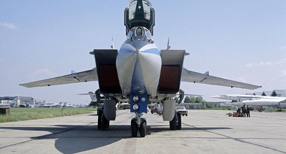 MiG-31 interceptor aircraft