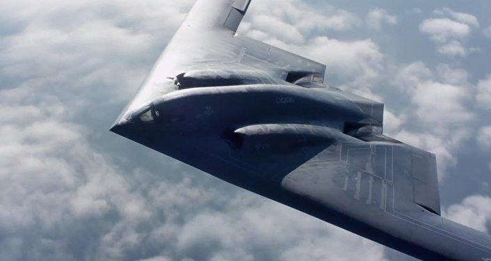 B-2 Stealth Bomber.