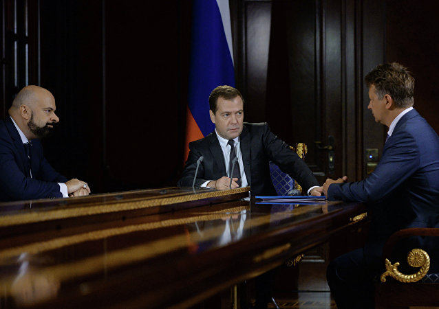 Dmitry Medvedev meets with Maxim Sokolov and Vadim Zingman