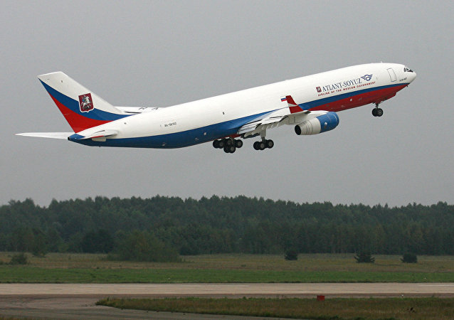 Il-96-400T cargo aircraft