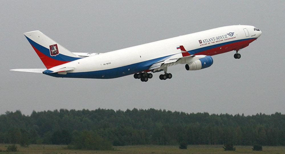 Il-96-400T cargo aircraft