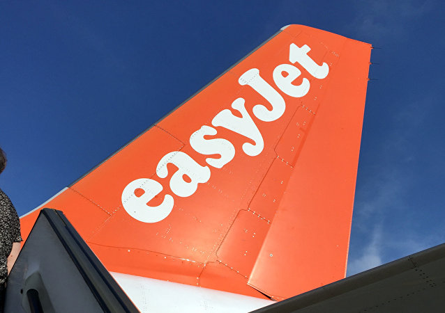 An Airbus in British airline EasyJet livery is pictured on July 3, 2015