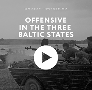 Offensive in the three Baltic states