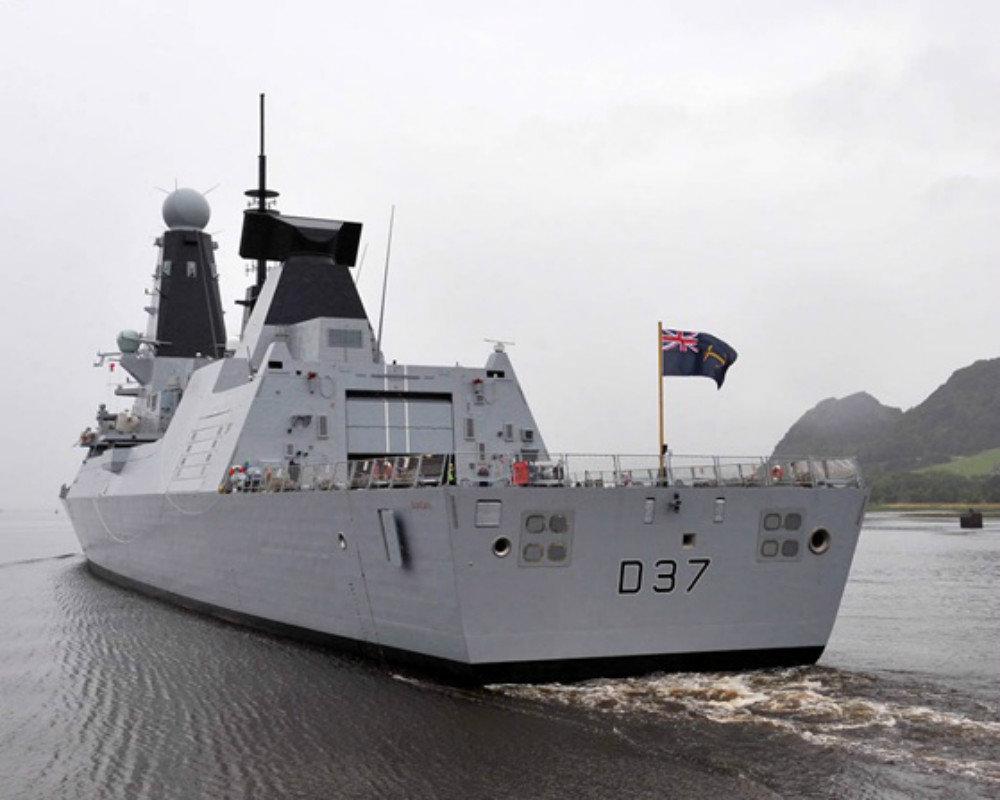 Type 45 Destroyer HMS Duncan