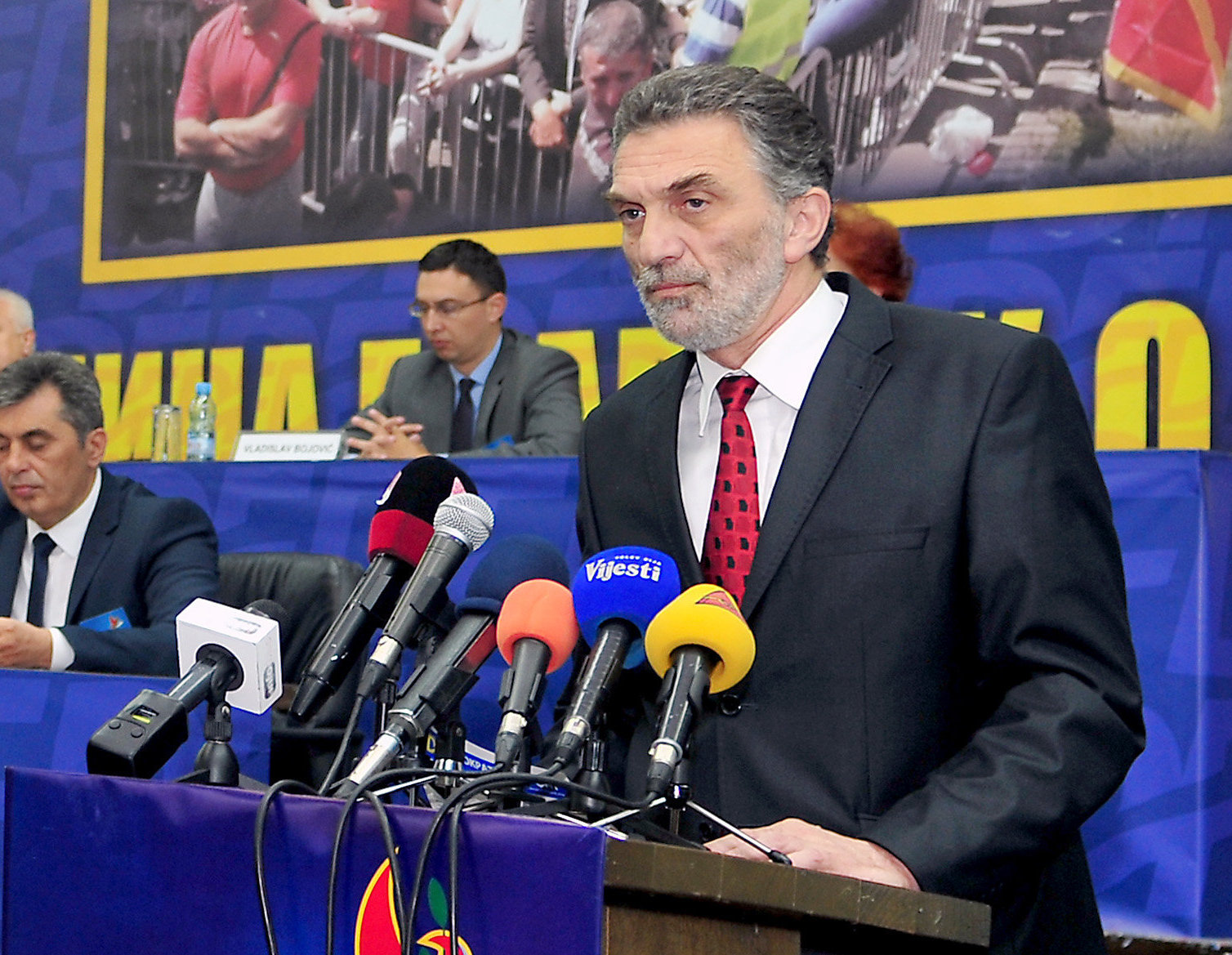 Strahinja Bulajic, Vice President of the political party New Serb Democracy