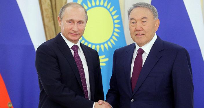 Russian President Vladimir Putin's visit to Kazakhstan