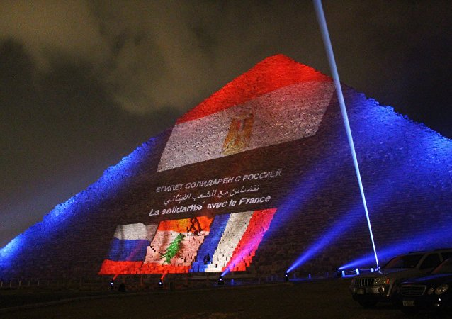 Memorial event for victims of Russian A321 crash and Paris terrorist attacks
