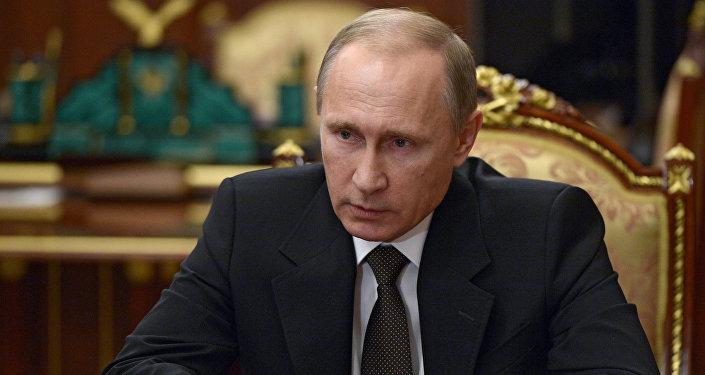 Russian President V. Putin