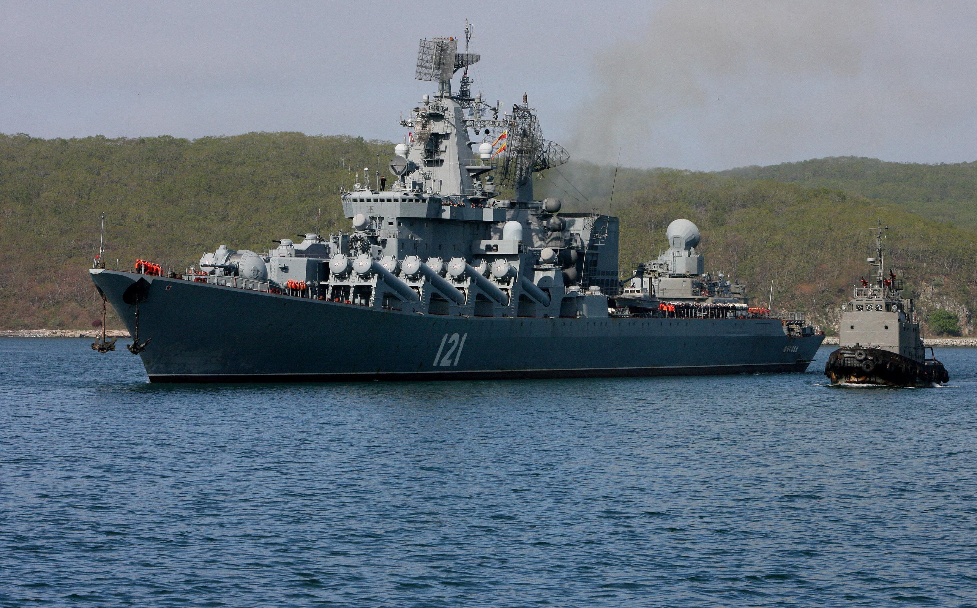 Missile Cruiser Moskva