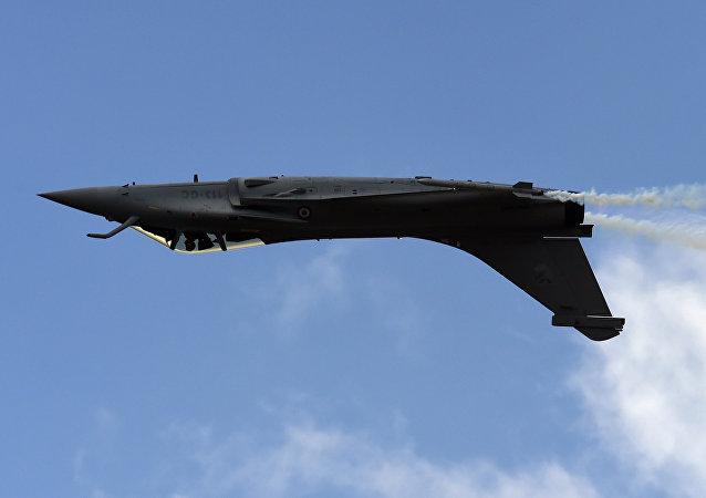 The Dassault Rafale fighter jet