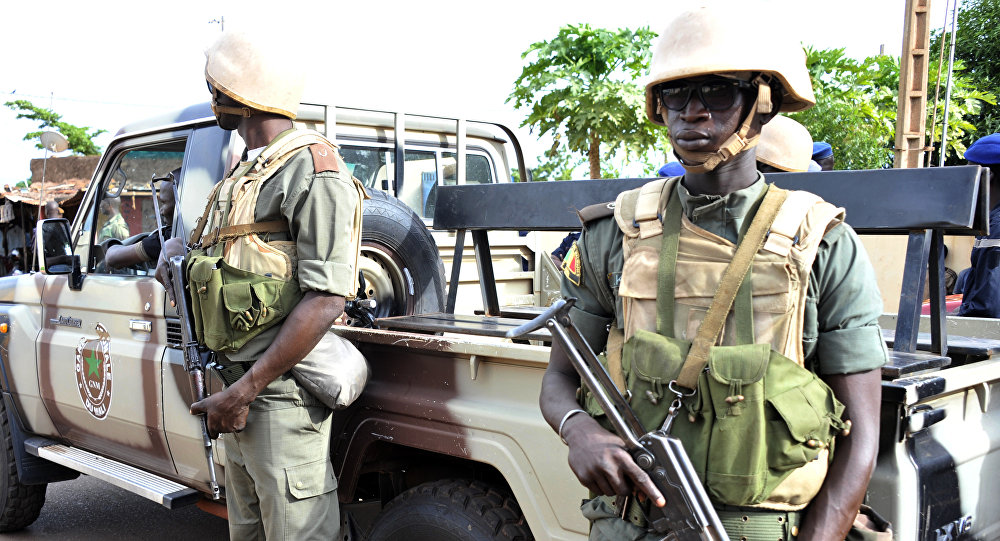 Armed soldiers in Mali's capital Bamako