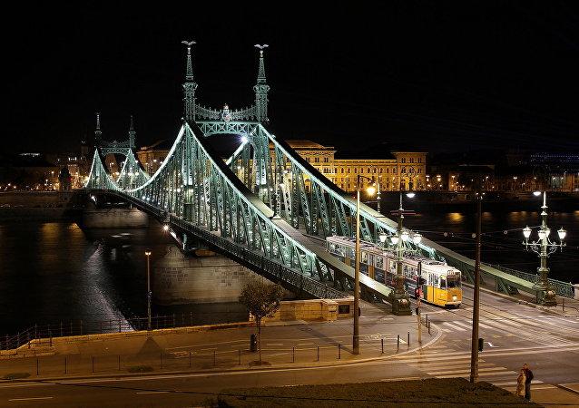 Liberty Bridge, Budapest, Hungary