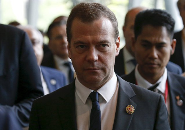 Russian Prime Minister Dmitry Medvedev leaves the East Asia Summit (EAS) meeting in Kuala Lumpur, Malaysia November 22, 2015