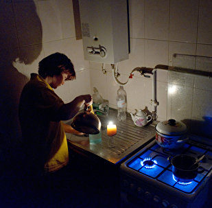 Power outage in Crimea