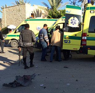 Ambulances in Egypt