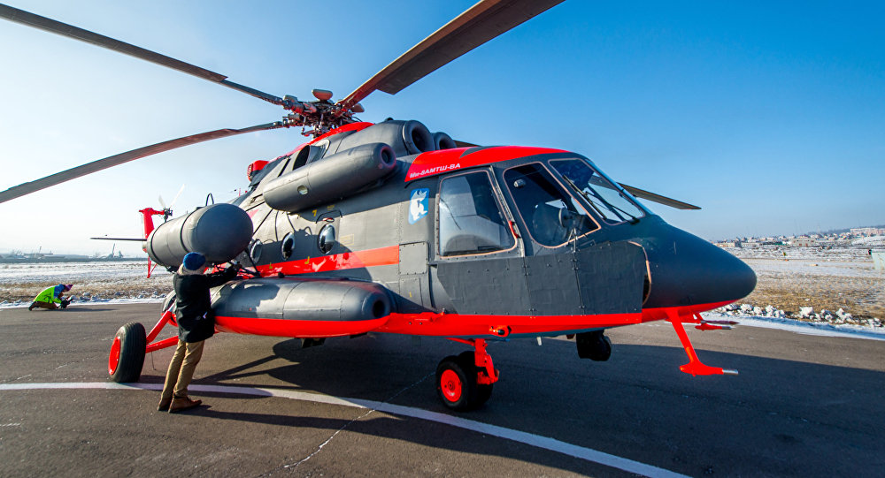 Flight tests of the Mil Mi-8AMTSH-VA Arctic helicopter at the Ulan-Ude Aviation Plant