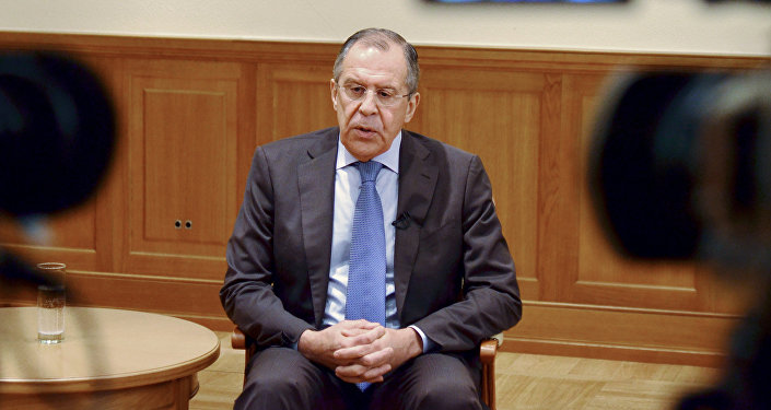 Russian Foreign Minister Sergei Lavrov's interview to Russian and foreign media
