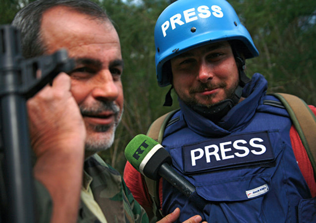 Sargon Hadaya, a correspondent with Russia Today's Arab department
