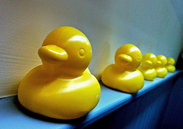 Plastic Yellow Ducks