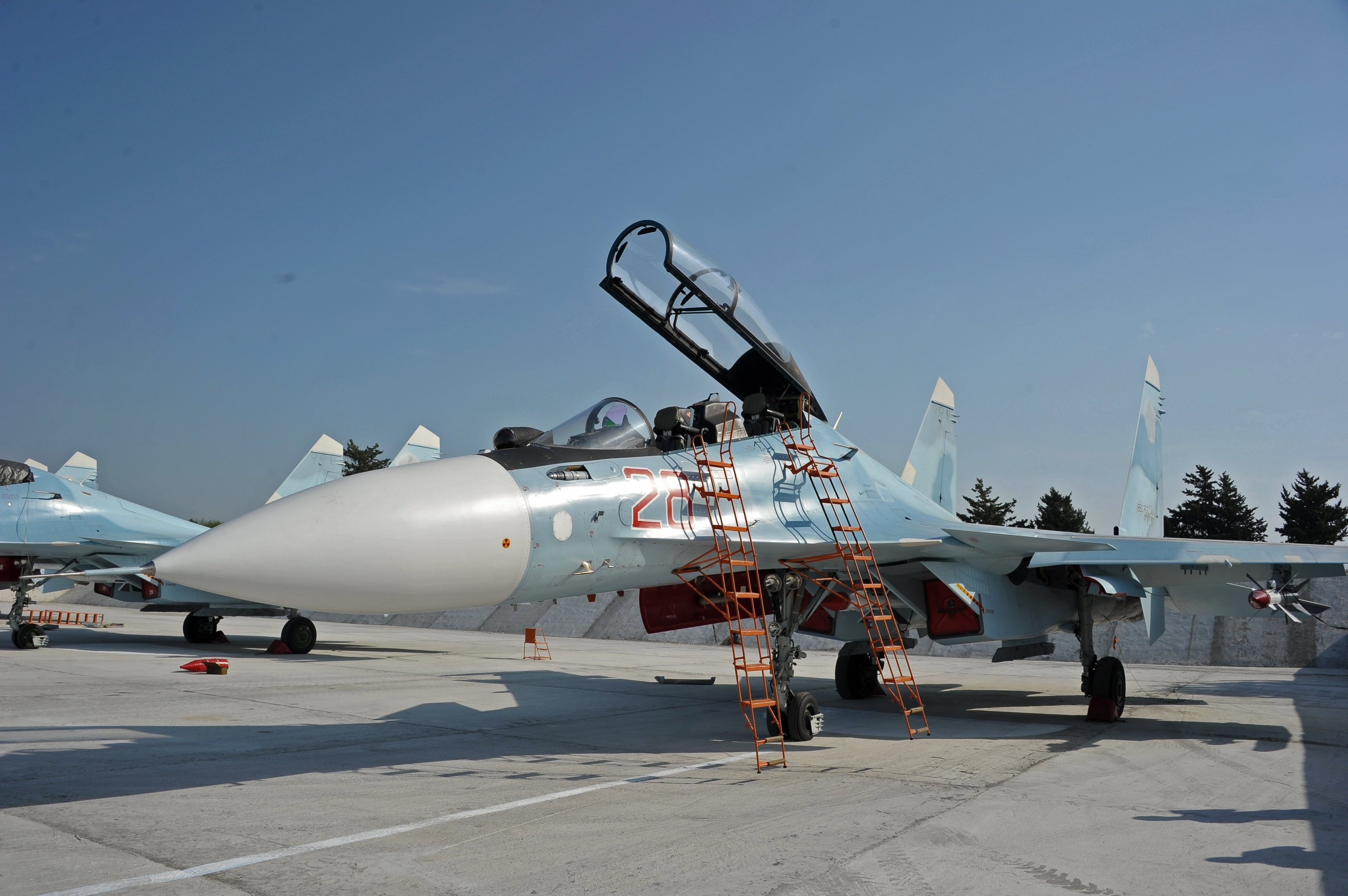 Sukhoi Su-30SM multirole fighter