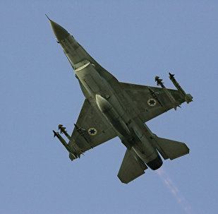 An Israeli F-16 multirole fighter. File photo