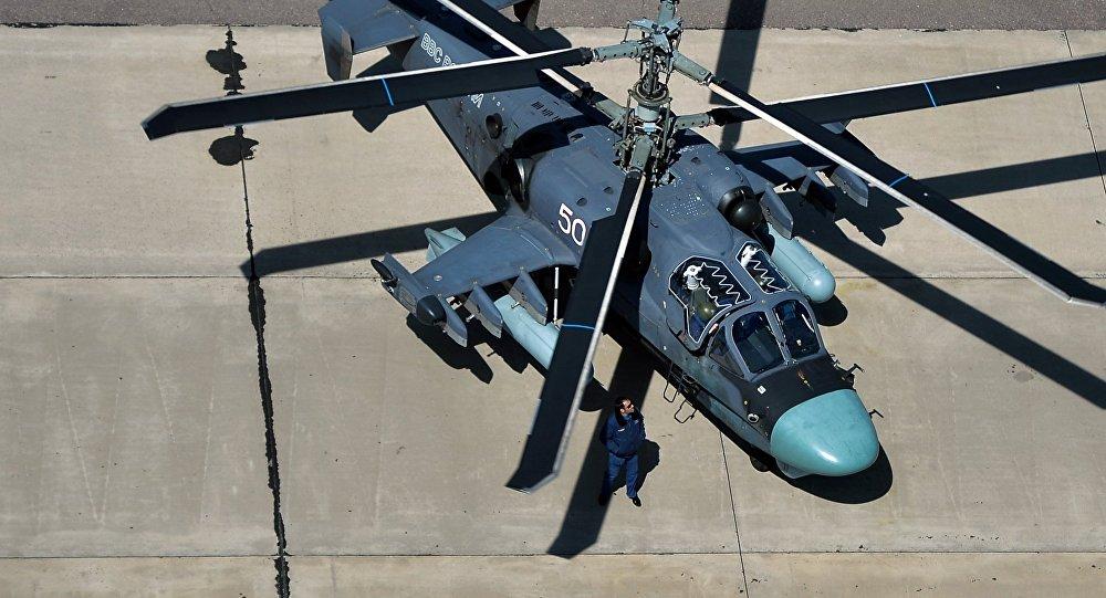 Kamov Ka-52 Hokum-B helicopter