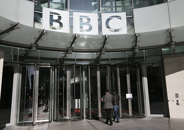 A general view of the BBC headquarters in London, Sunday, Nov, 11, 2012