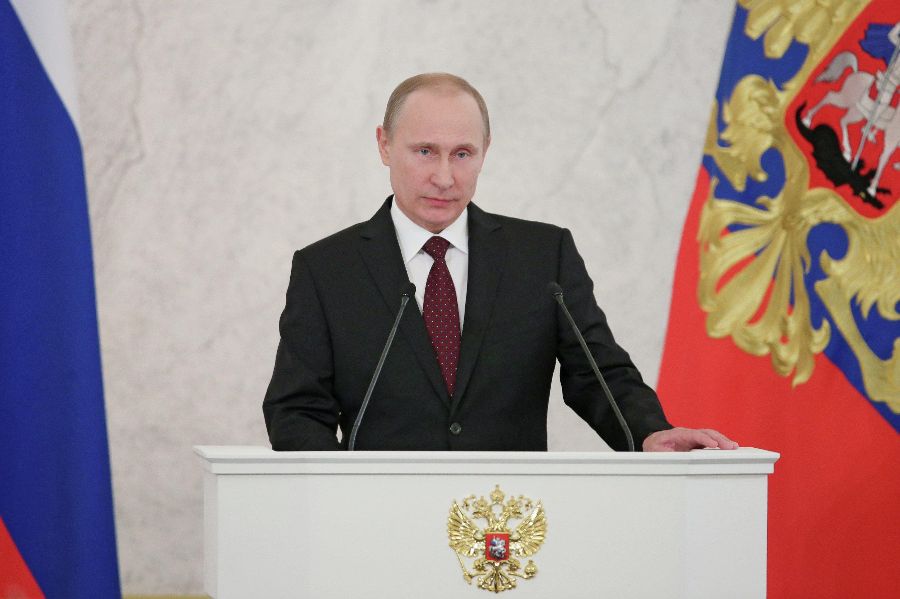 Президент РФ Владимир Путин 1 марта выступил с посланием к ...