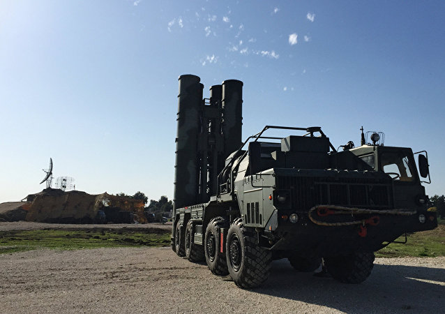 Russia deploys S-400 air defence missile system.