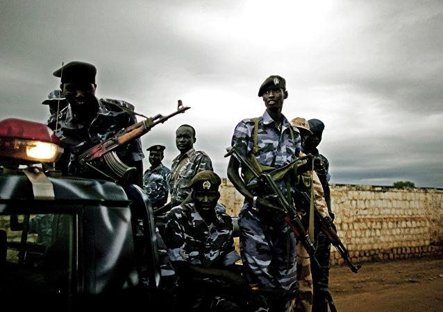 Southern Sudan police
