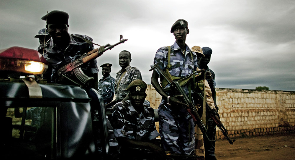 Southern Sudan police