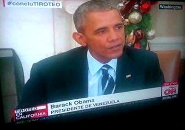 CNN has appointed Obama to Venezuelan President