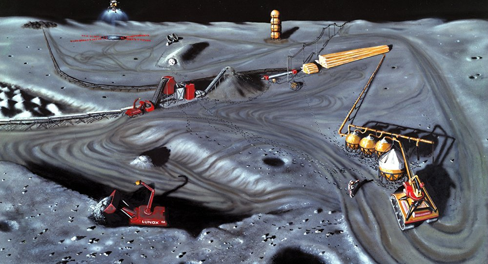 A new US law has essentially legalized space mining.