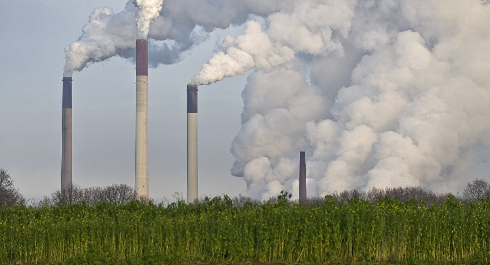 Coal power plants are among the biggest producer of CO2, that is supposed to be responsible for climate change