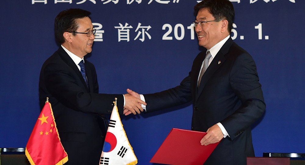 South Korea China Free Trade Agreement To Take Effect On December 20