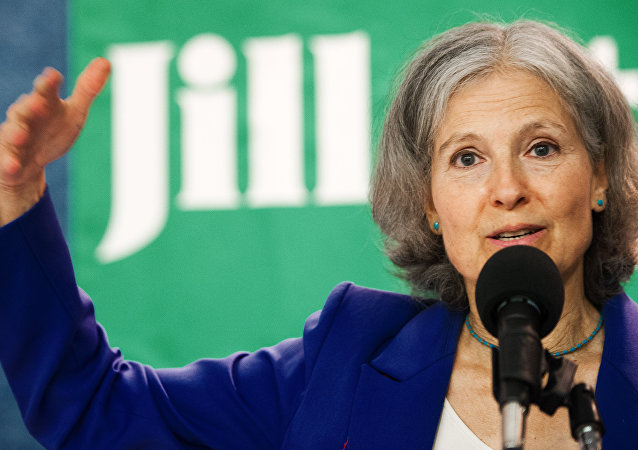 US Green Party Presidential Candidate Dr. Jill Stein delivers remarks while announcing Cheri Honkala as her US Green Party vice-presidential running mate during a press conference July 11, 2012, in Washington, DC