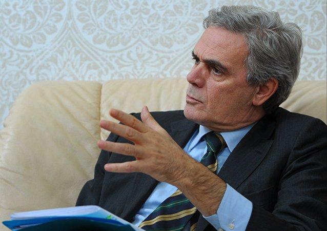 Italian Ambassador to Russia Cesare Maria Ragaglini