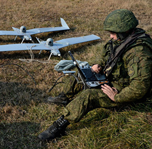 Small unmanned aerial vehicle (File)