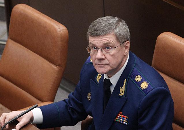 Russian Prosecutor General Yuri Chaika