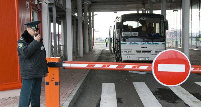 Shebekino customs checkpoint on Russian-Ukrainian border. File photo