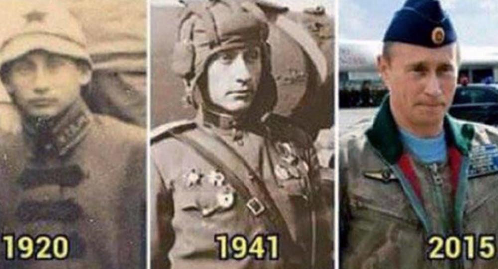 Putin, through the years...