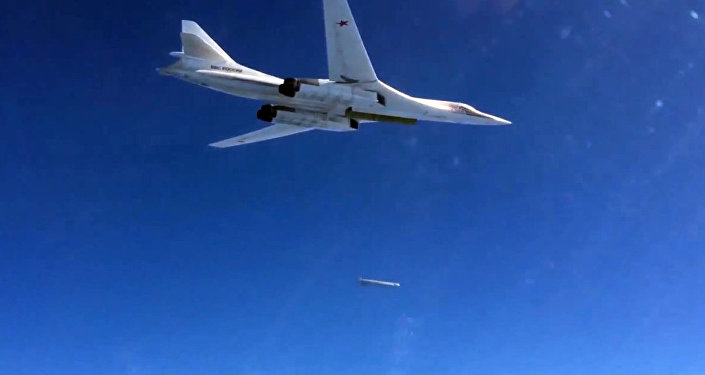 Russian Air Force's long-range aircraft hit ISIL targets in Syria
