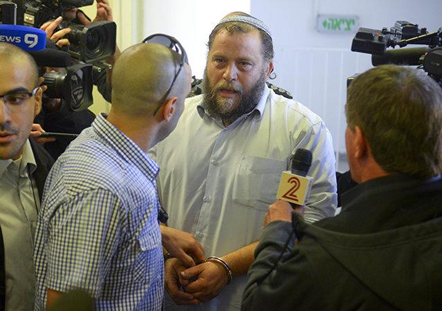 Jewish extremist leader Benzi Gopstein.