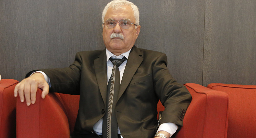Leading member of the Syrian Democratic People's Party and official spokesman of the Syrian National Council, George Sabra.